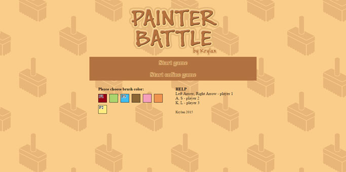 Painter Battle screenshot